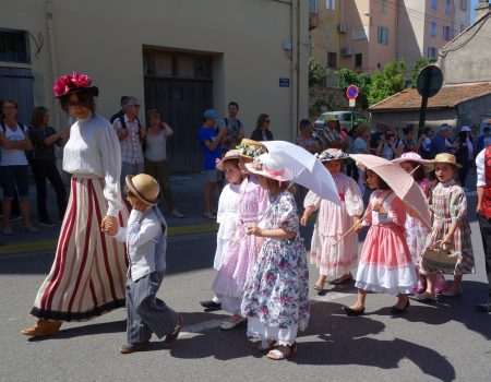 Le défilé des enfants