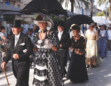 giens 1900 defile costumes 2