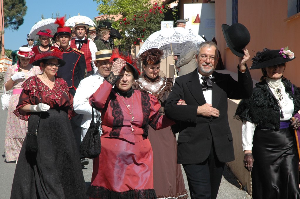 giens 1900 defile costumes 3